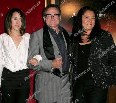 Zelda Williams, Robin Williams and wife Marsha Garces Williams