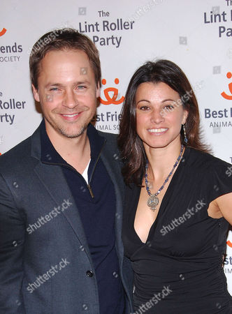 Chad Lowe and Kim Painter