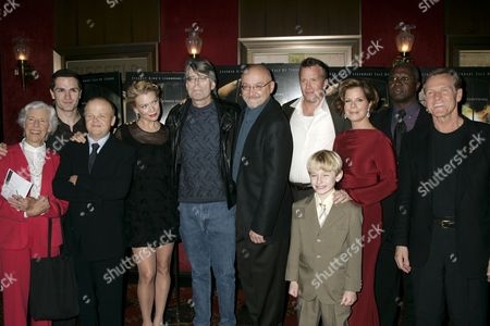 Frances Sternhagen, Sam Witwer, Toby Jones, Laurie Holden, Stephen King, Director Frank Darabont, Thomas Jane, Nathan Gamble, Marcia Gay Harden, Andre Braugher and William Sadler