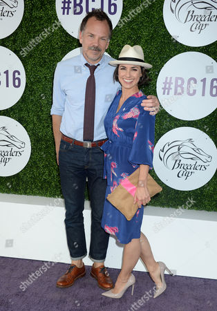 Constance Zimmer and husband Russ Lamoureux