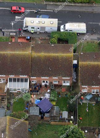Police are searching this house in Margate and have confirmed human remains have been found - they are of Vicky Hamilton, 15, who went missing in Scotland 16 years ago. They are continuing to search as part of investigations into another missing person, Dinah McNicol, from Essex. She was 18 when she failed to return to her family home in Tillingham after a trip to a music festival in Hampshire in the summer of 1991
