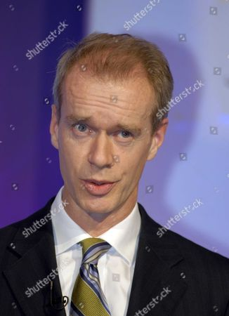 Stock Image of Stephen Sackur From the BBC Hard Talk Programme