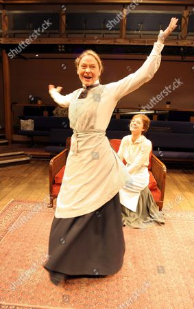 Stock Picture of Octavia Walters (left) as Maggie Massey and Amy Noble as Lily Wilson