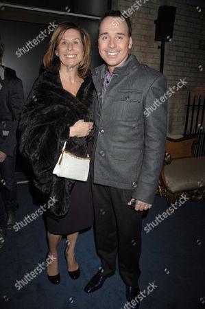 Jo Levine and David Furnish