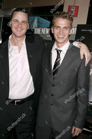 Director Joby Harold and Hayden Christensen
