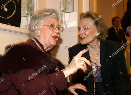 "RUTHERFORD ISRAEL CURLEY Actresses Ann Rutherford, left, and Marcia Israel-Curley attend ""An Evening to Remember Rosemary Clooney,"" in Beverly Hills, Calif"