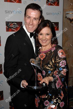 Anton Du Beke and Arlene Phillips