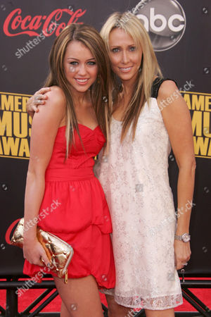 Miley Cyrus and mother Letitia Cyrus