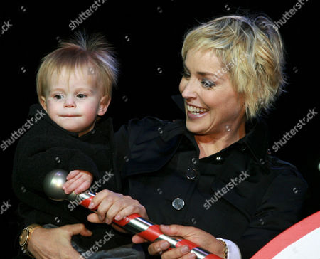 Sharon Stone and son Laird Vonne Stone