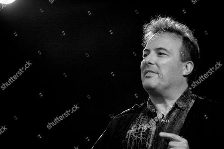 Jello Biafra, political activist from the band Dead Kennedys performing spoken word art.