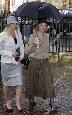 Lady Davina Lewis and The Duchess of Gloucester