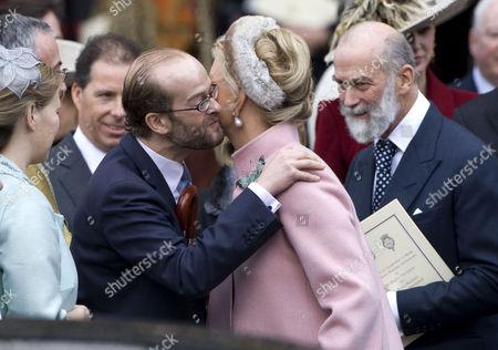 Lord Nicholas Windsor, Princess Michael and Prince Michael of Kent