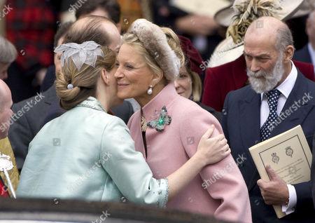 Lady Nicholas Windsor, Princess Michael and Prince Michael of Kent