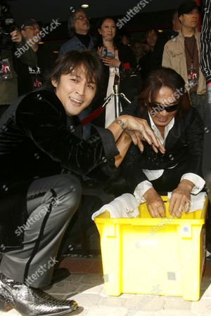 Koshi Inaba and Tak Matsumoto