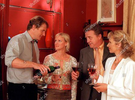 'Cold Feet' - 2000's Robert Bathurst, Hermione Norris and Nicholas Ball.
