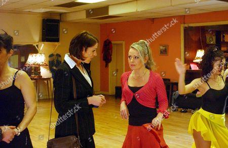 Suranne Jones and Barbara Durkin in 'The Vice' - 2004