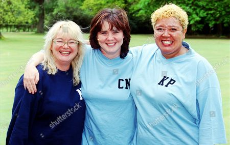 Nicola Duffett, Coleen Nolan and Kay Purcell in 'Celebrity Fit Club' - 2002