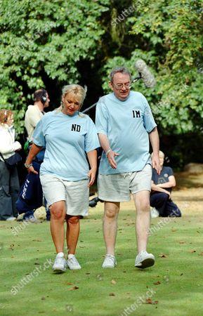 Ian McCaskill and Nicola Duffett in 'Celebrity Fit Club' - 2002