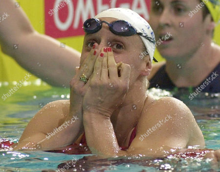 PICKERING England's Karen Pickering reacts after winning the gold medal in the women's 200 freestyle final at the Commonwealth Games in Manchester, England