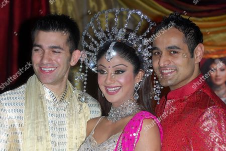 Wayne Perry, Shilpa Shetty and Nicholas Brown, star in 'Miss Bollywood' a new musical based around an East London dance academy whose future is threatened by the 2012 Olympics