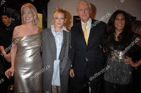 Hilary Weston, Kate Hudson, Galen Weston and Laurie Lynn Stark