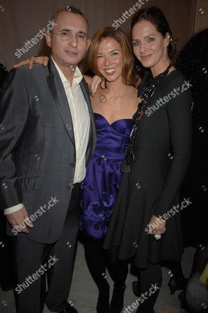 Johnny Elichaoff, Heather Kerzner and Trinny Woodall