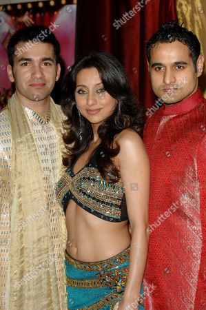 Wayne Perry, Anousha Dandekar and Nicholas Brown  promote 'Miss Bollywood', a new musical based around an East London dance academy whose future is threatened by the 2012 Olympics