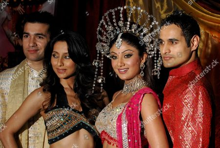 Wayne Perry, Anousha Dandekar, Shilpa Shetty and Nicholas Brown  promote 'Miss Bollywood', a new musical based around an East London dance academy whose future is threatened by the 2012 Olympics
