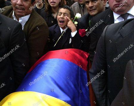 Editorial picture of COLOMBIA SENATOR KILLED, BOGOTA, Colombia