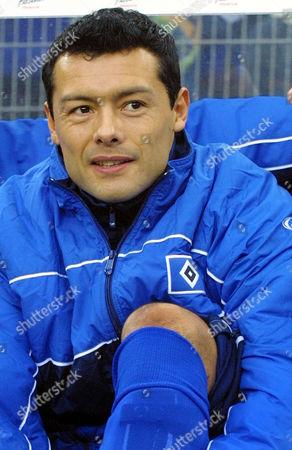 RODOLFO CARDOSO 15. Dezember 2001, Fussball-Bundesliga HSV. Rodolfo E. Cardoso, Argentinien
