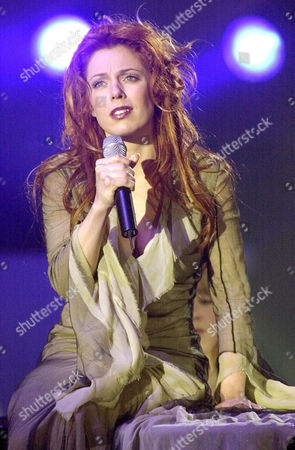 BOULAY Canadian's pop singer isabelle Boulay performs during the Victoires de la Musique awards ceremony in Paris
