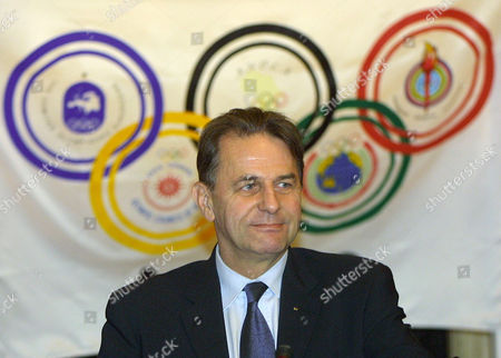 """ROGGE International Olympic Committee president Jacques Rogge answers reporters after a meeting of the Association of National Olympic Committees at a Paris hotel . Rogge said he and Dick Pound had yet to reach a """"final conclusion"""" on what role the Canadian might play in the Olympic body. Pound resigned his posts at the IOC after being defeated in July's presidential election"""