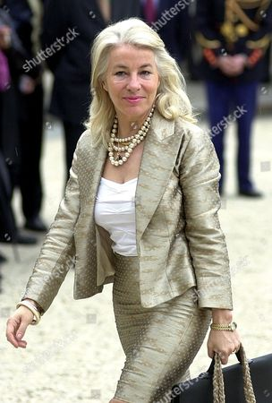 Stock Photo of AMELINE New Secretary of State for Maritime Affairs Nicole Ameline arrives at the Elysee Palace in Paris, to attend the first cabinet meeting since President Jacques Chirac was re-elected Sunday May 5