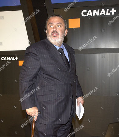 FARRUGIA New head of Canal Plus television and film unit, a branch of media company Vivendi Universal, Dominique Farrugia, is seen at the end of Canal Plus' annual shareholders meeting in Paris, . Farrugia, formerly head of programming, was chosen Thursday to ensure the financial success of Canal Plus and retain its creative edge, Vivendi said in a statement
