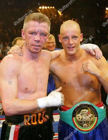 ULRICH ROCCHIGIANI German boxers Graciano Rocchigiani, left, and victorious Thomas Ulrich pose after their WBC half-heavyweight fight in the Hanns-Martin-Schleyer indoor arena in Stuttgart, southwestern Germany, late . Ulrich won the fight by points in 12 rounds. Rocchigiani announced that it was the last fight in his carreer