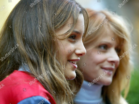 KINSKI German actress Nastassia Kinski, right, is pictured with her daughter Sonya, left, at the opening of a new Tommy Hilfiger retail store in Duesseldorf, Germany, . Sonja Kinski is one of Hilfiger models