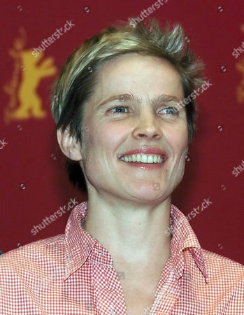 """EICHHORN German actress Karoline Eichhorn poses during a photo call prior to a press conference about the new film """"Der Felsen (A Map of the Heart)"""" running in the competition at the 52nd Berlinale Film Festival in Berlin on"""