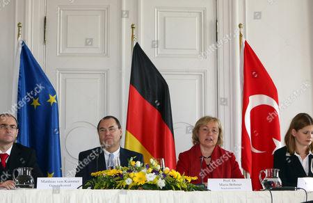 Matthias von Kummer and Prof Dr. Maria Bohmer
