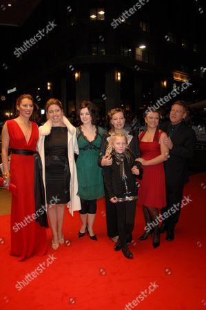 Amy Carson,Teuta Coco, Silvia Moi,  Kim-Marie Woodhouse, Guest, Lyubov Petrova, and Kenneth Branagh