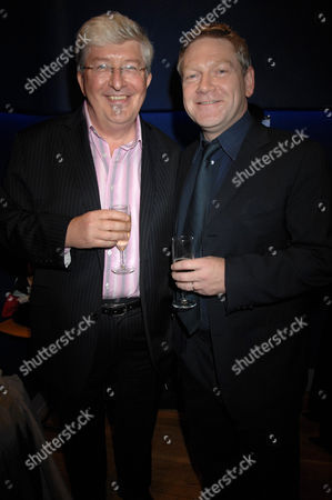 Simon Bates and Kenneth Branagh