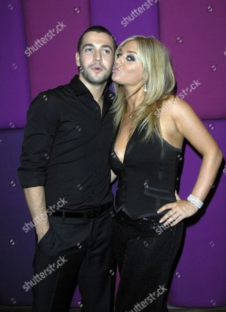 Shayne Ward with girlfriend Faye Mckeever launching his new album Breathless