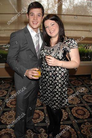 Ben James-Ellis and Leanne Jones