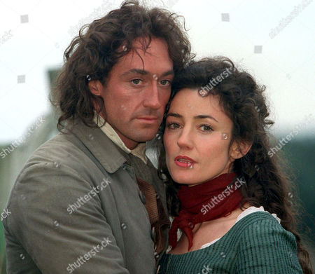 'Wuthering Heights' - Robert Cavanah as Heathcliff and Orla Brady as Cathy. - 1998