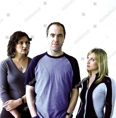 'Quite Ugly One Morning' - Daniela Nardini (Sara Slaughter), James Nesbitt as Jack Parlabane  and Morven Christie (Jenny)- 2004
