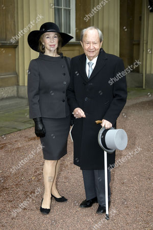 Ann Seargent and Peter Sallis