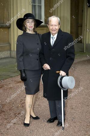 Editorial image of Investiture at Buckingham Palace, London, Britain - 28 Nov 2007