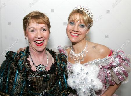 Malandra Burrows (Emmerdale) plays Sleeping Beauty, Helen Fraser (Bad Girls) plays the Wicked Witc