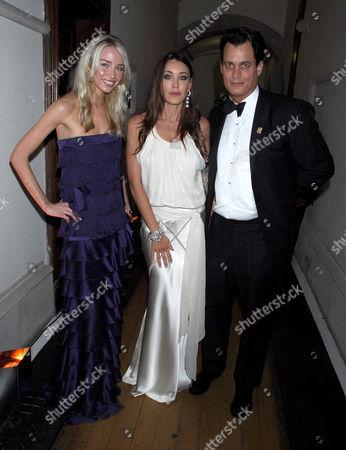 Noelle Reno, Matthew Mellon and Tamara Mellon