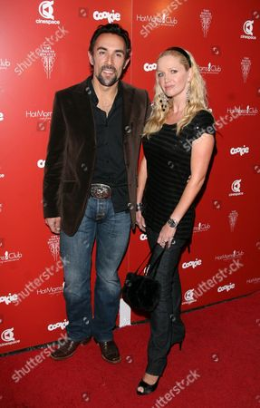 Francesco Quinn with wife Julie McCann