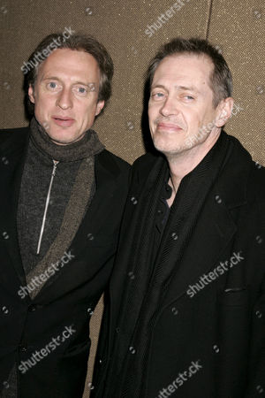 Michael Buscemi and brother Steve Buscemi